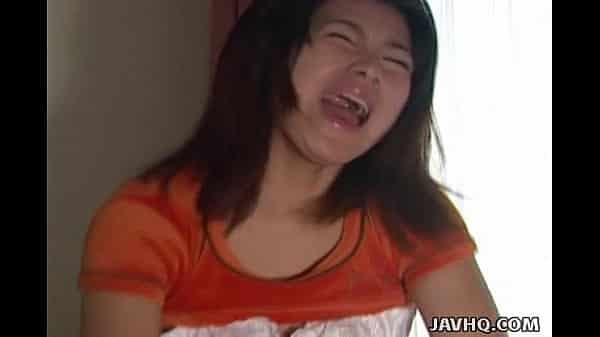 หนังโป๊Jav Uncensoredฉากเด็ด เย็ดหีสาวญี่ปุ่นเสื้อส้มนมน่ารัก  Hiroko Mortia